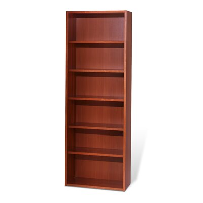 Jesper Office Bookcase with Five Adjustable Shelves