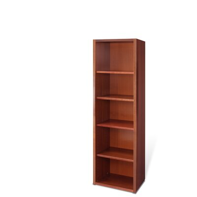 Jesper Office Bookcase with Four Adjustable Shelves
