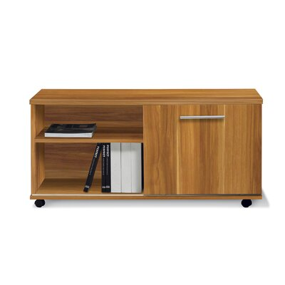 Jesper Office Pure Office Low Side Cabinet in Apple Laminate