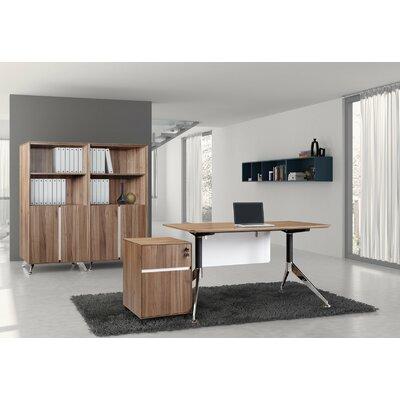 Jesper Office 300 Computer Desk with Modesty Panel