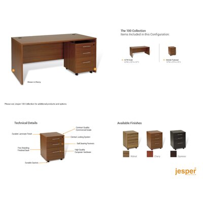Jesper Office Pro X Standard Executive Desk Office Suite