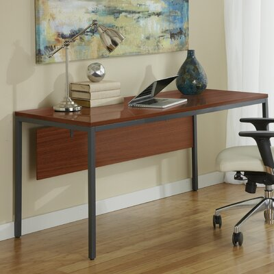 Jesper Office Parson Writing Desk with Modesty Panel