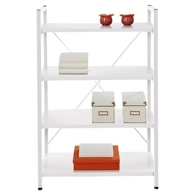 Jesper Office Tribeca 213  Bookcase with Four Shelves