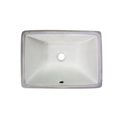 Undermount Bathroom Sinks on Sinks Rectangle Ceramic Undermount Bathroom Sink   Um 16x11 B Bathroom