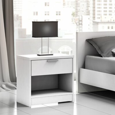 Stellar Home Euro 1 Drawer Nightstand