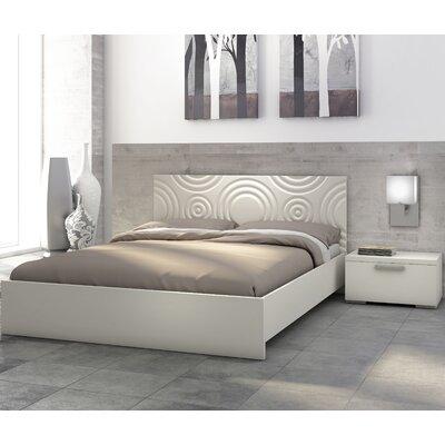 Stellar Home Furniture Sienna Circles Platform Bedroom Collection