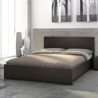 Sienna Waves Platform Bed By Stellar Home Furniture Order Available Now