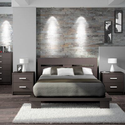 Cosmopolis Queen Platform Bedroom Collection Wayfair