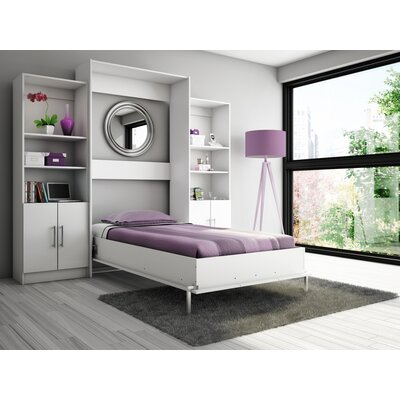 Eva Twin Wall Bed Wayfair