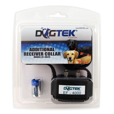 DogTek Additional Receiver Dog Electric Fence Collar