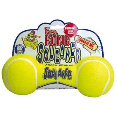 KONG Air Squeaker Dumbell Dog Toy