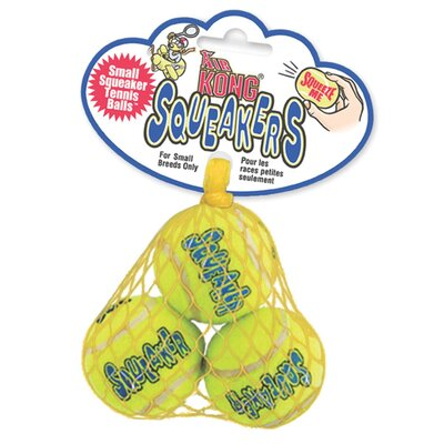 Small Squeaker Tennis Ball Dog Toy