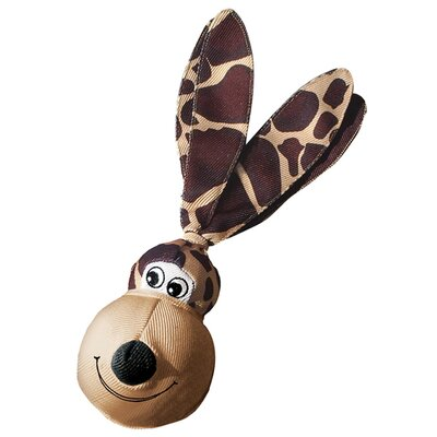 KONG Wubba Floppy Ears Giraffe Dog Toy