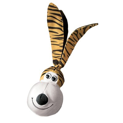 KONG Wubba Floppy Ears Tiger Dog Toy
