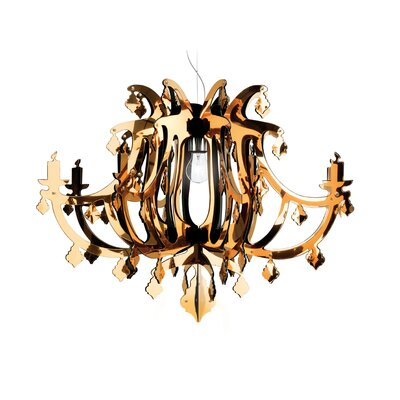 SLAMP Ginetta 1 Light Suspension Chandelier
