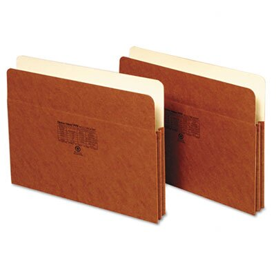 Globe Weis 1 in Expansion Accordion Pocket, Straight, Manila/Redrope, Letter, Brown