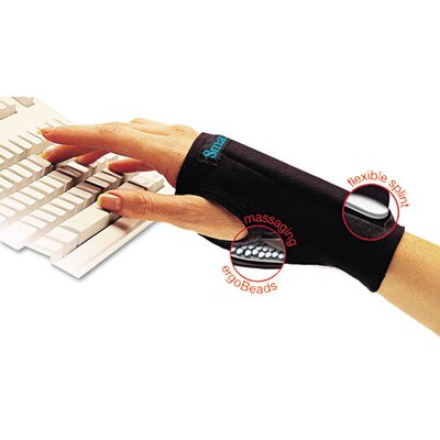 IMAK PRODUCTS SmartGlove Wrist Wrap, Medium, Black, Large