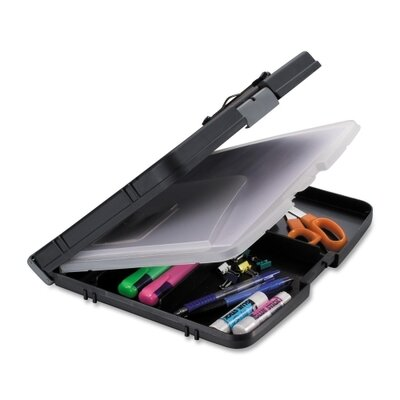 Officemate International Corp Triple File Clipboard Storage Box