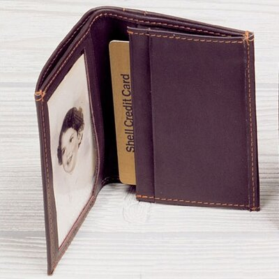 Winn International Cowhide Nappa Leather Two Fold Business Card Case III