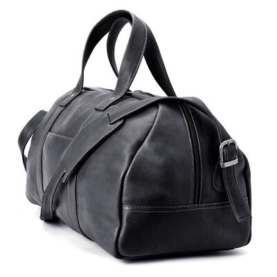 Winn International Colombian Leather Simplified Duffel