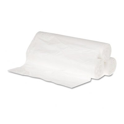 Hi-Density Can Liners, 24 x 23, 6 mic, Clear, 20 Rolls of 50 Bags, 1000/Carton ...