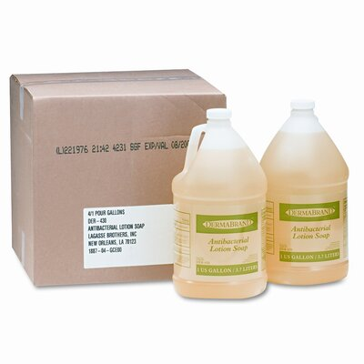 Boardwalk Antibacterial Liquid Soap, 4/Carton