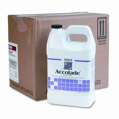 Franklin Cleaning Technology Accolade Floor Sealer, 4/Carton