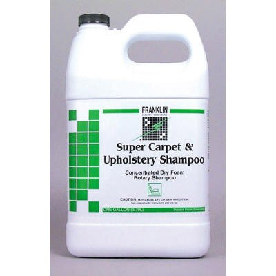 Franklin Cleaning Technology Super Carpet and Upholstery Shampoo Bottle