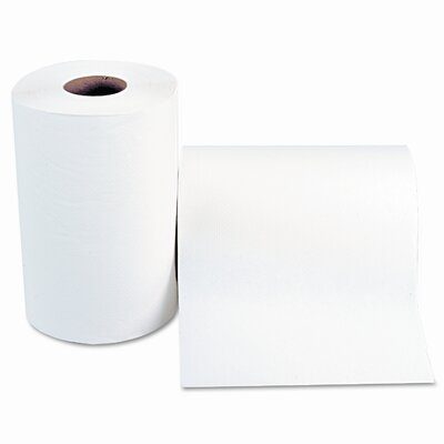 Windsoft Nonperforated 1-Ply Paper Towels - 12 Rolls