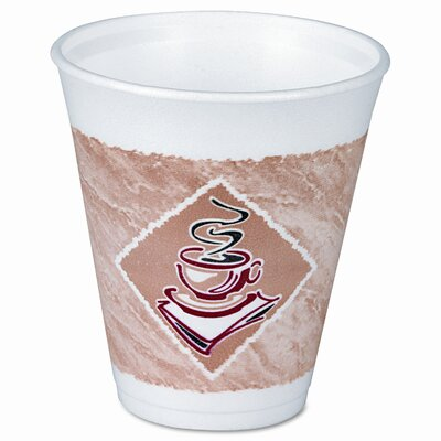 Dart Container Corp. Foam Hot/Cold Cups, 16 Oz., 1000/Carton