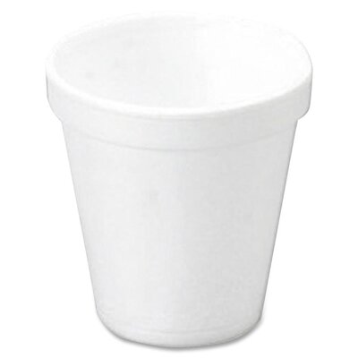 Dart Container Corp. 10 oz Foam Cups 25/Bag in White