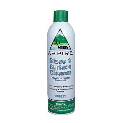 Misty Aspire Glass and Surface Cleaner Citrus Scent Aerosol Can