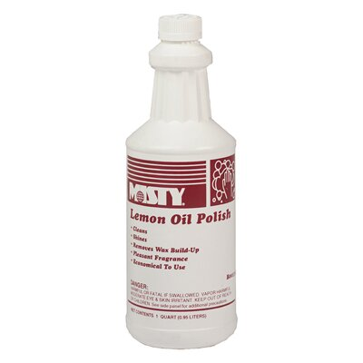 Misty Lemon Oil Furniture Polish Bottle