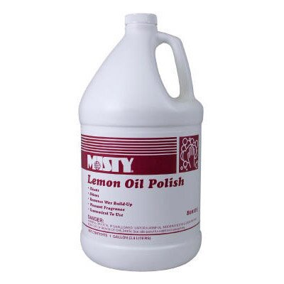 Misty 1 Gallon Lemon Oil Furniture Polish Bottle