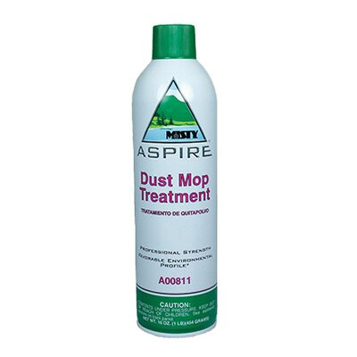 Misty Dust Mop Treatment, Attracts & Holds Dirt, Non-Oily, 1 Gallon, 4/Carton
