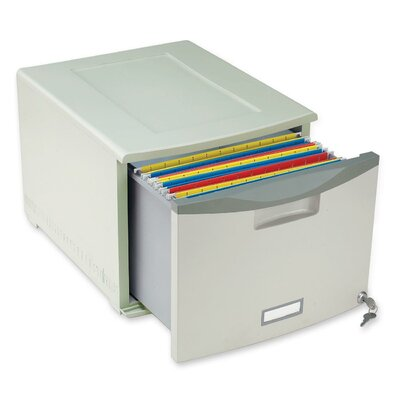 Storex 1-Drawer File