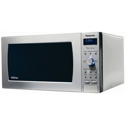 2.2 Cu. Ft. 1250 Watt Genius Prestige Microwave Oven in Stainless Steel