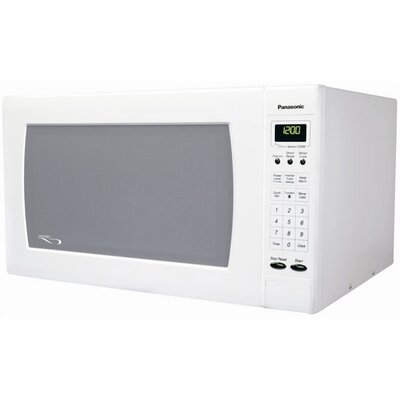 2.2 Cu. Ft. 1250 Watt Full Size Luxury Microwave Oven in White