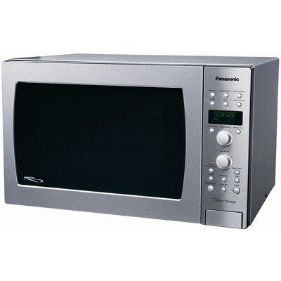 1.5 Cu. Ft. 1100 Watt Prestige Countertop Convection Microwave Oven in Stainless Steel