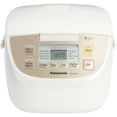 Panasonic® 5 Cup Fuzzy Logic Rice Cooker