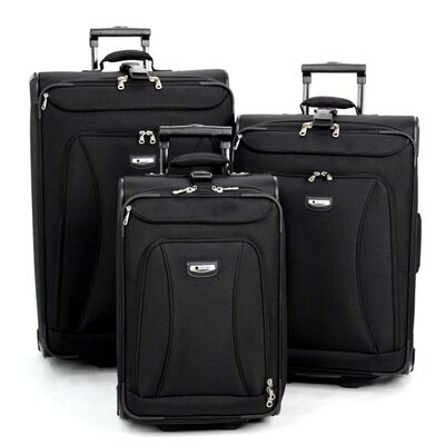 Delsey Helium Alliance 3 Piece Luggage Set