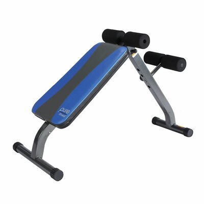 Crunch Adjustable Ab Bench and Sit-Up