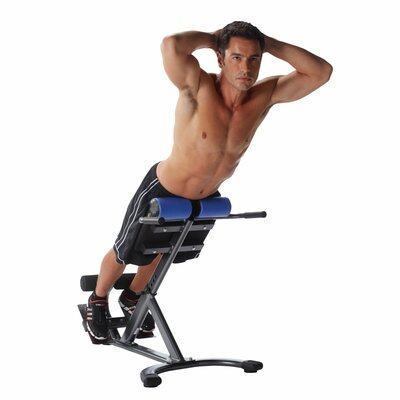 Pure Fitness Adjustable Hyperextension Bench