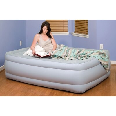 "Pure Comfort Full Size Flock ""Raised"" Air Bed"