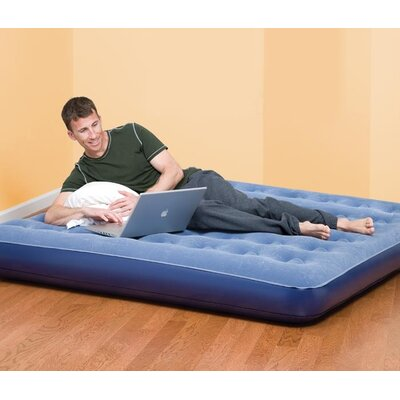 Pure Comfort Queen Low Profile Flock Top Air Bed