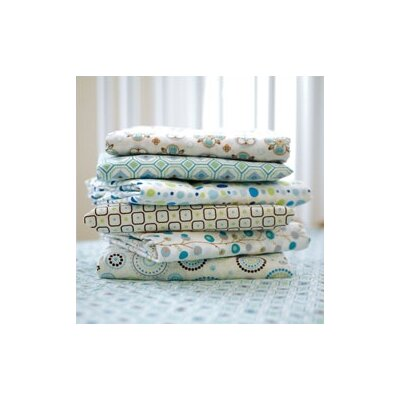 Vintage Octagon Pattern Crib Sheet