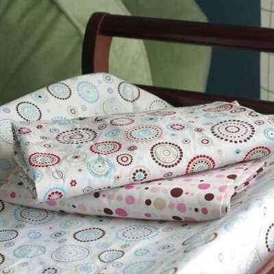 Caden Lane Blue Changing Pad Cover