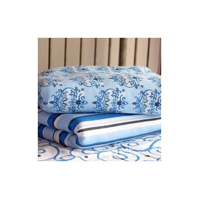 Caden Lane Luxe Stripe Pattern Crib Sheet