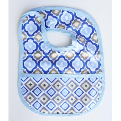 Caden Lane Ikat Mod Coated Bib
