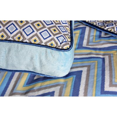 Caden Lane Ikat Boy Square Pillow